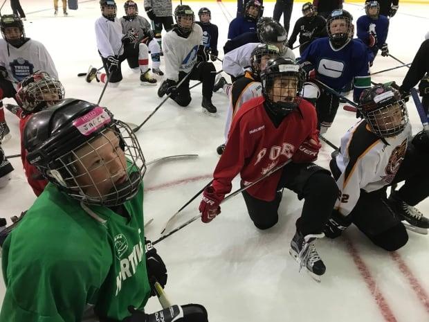 Watson Lake hockey camp