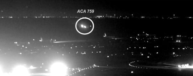 Air Canada Flight 759 told to 'go around'