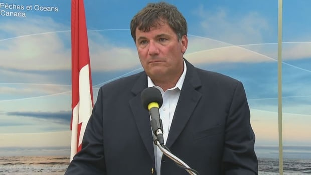 Fisheries Minister Dominic LeBlanc