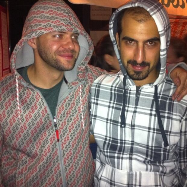 Jon and Bassel