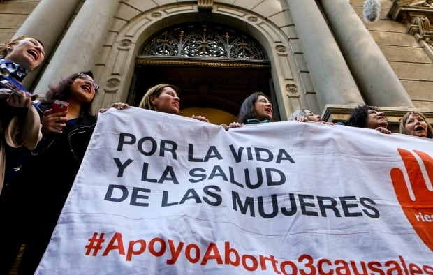Chile Abortion Protest