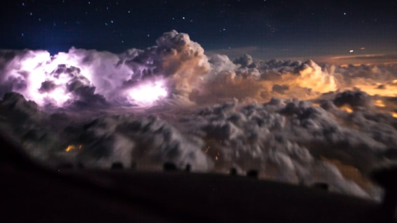 Weather from plane