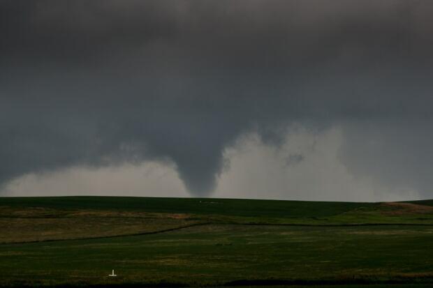 Tornado near Calgary