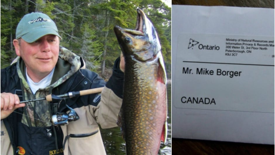 Mike Borger Holds A Giant Algonquin Park Brook Trout The Angler Received Freedom Of