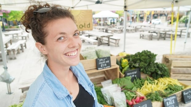 Paige Postma is the co-owner of Sungold Organics, a non-certified organic farm south of London.