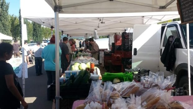 Food guidelines at the South Common Farmers' Market are more strict than those applied to Alberta-approved farmers' markets, manager says
