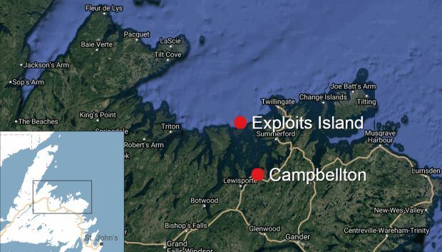 Campbellton to Exploits Island