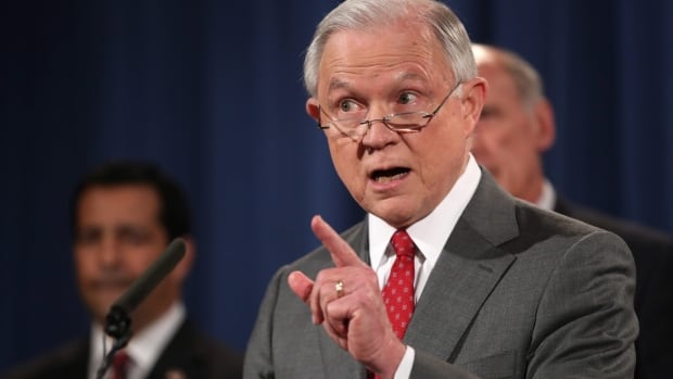 U.S. Attorney General Jeff Sessions promises prosecutions to the fullest extent of the law for those who leak classified material threatening national security.