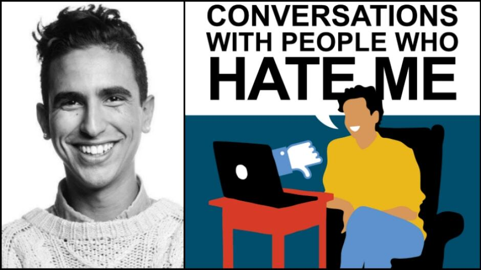 "Dylan Marron is the host of the new podcast ""Conversations with People Who Hate Me,"" produced by Night Vale Presents."