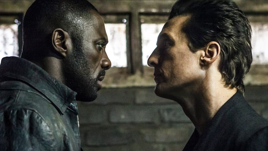 Idris Elba and Matthew McConaughey in The Dark Tower based on the Stephen King series.