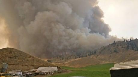 Clinton control fire