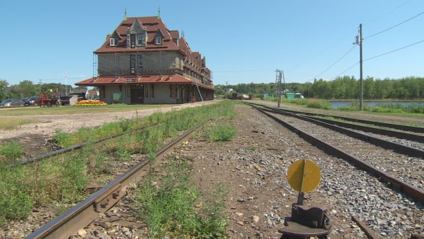 The McAdam Railway Station, built in 1900 and now a museum and historic site, is getting some repairs.