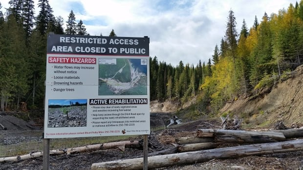 Mount Polley site -Restricted Access
