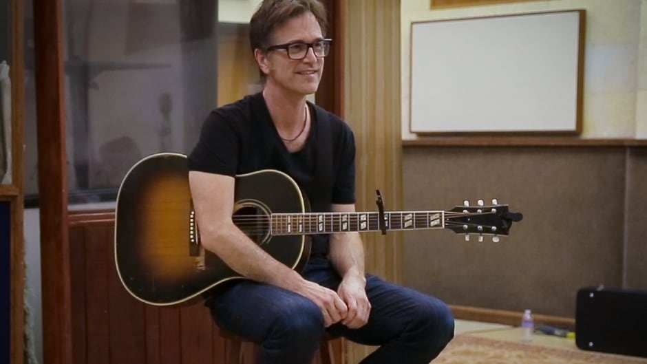 Songwriter Dan Wilson's latest album is entitled Re-Covered.