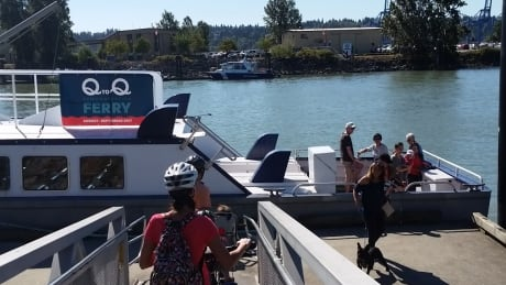 Q to Q ferry service new Westminster