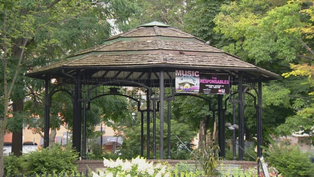 As a public space, the private security has no authority in the park, except to make sure no one the gazebo isn't occupied when BIA has a permit to use it on Thursdays.