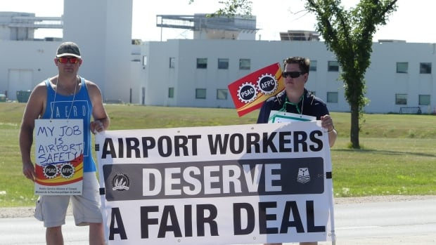 The Winnipeg Airports Authority and the Public Service Alliance of Canada have reached a 6-year agreement that will bring the roughly 150 airport employees who've been on strike since July 24 back to work.