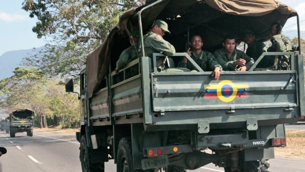 Venezuela government says arrests made after reports of military uprising