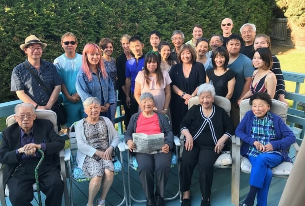 Yee Clun's family in Vancouver