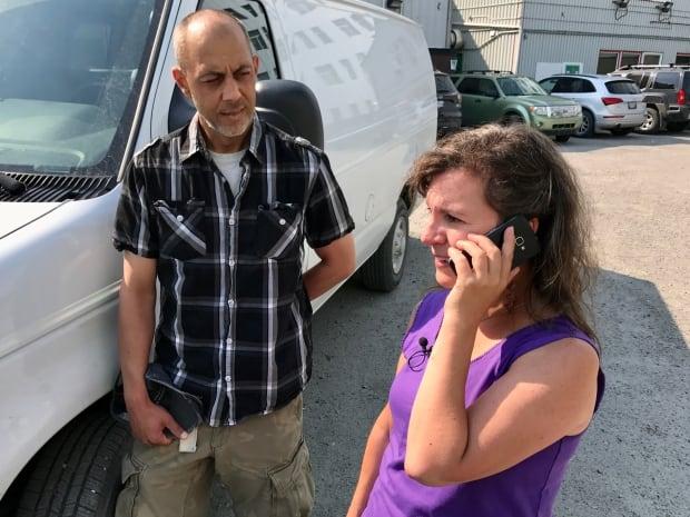 Lydia Bardak answers the phone