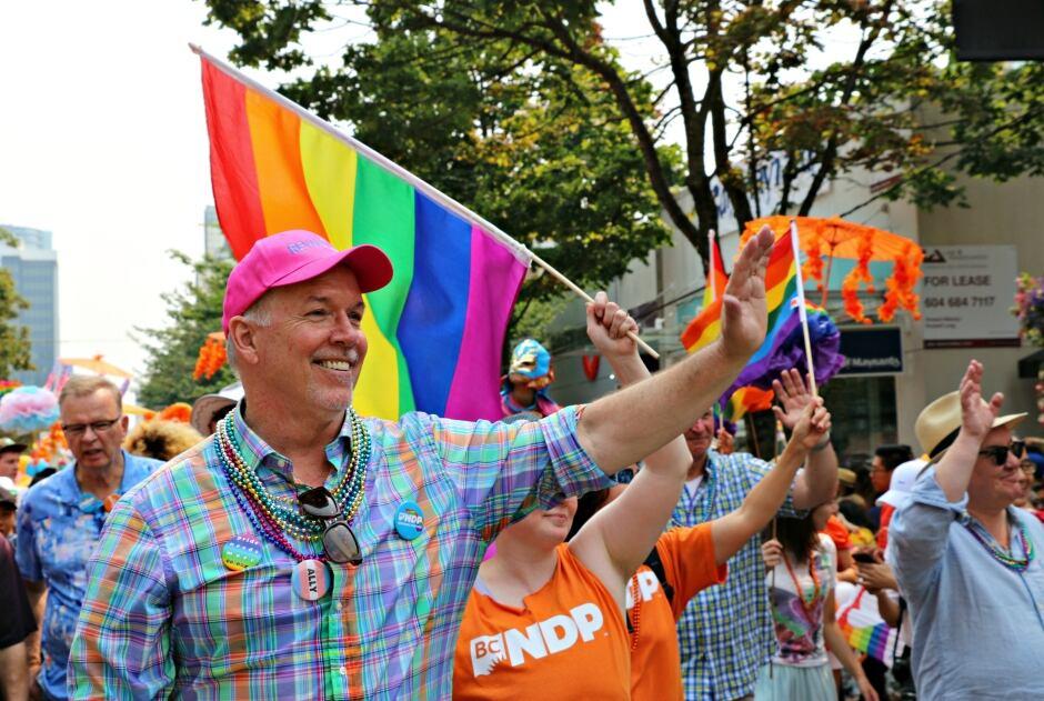 john horgan vancouver pride parade 2017