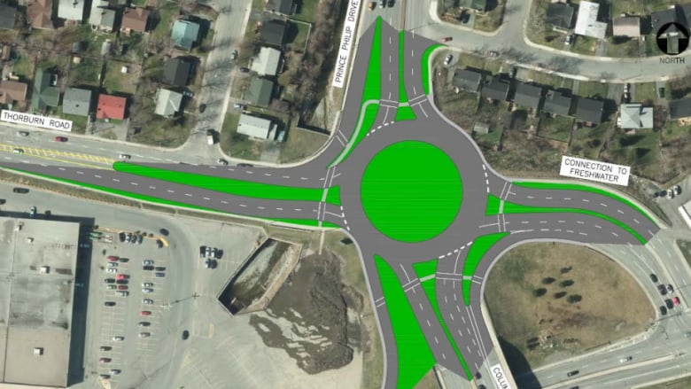 Round and round: 3 roundabouts planned for Prince Philip