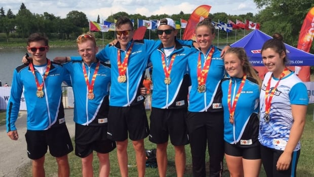 Team Nova Scotia won medals in seven of eight paddling races on the first day of canoe kayak events at the 2017 Canada Games in Winnipeg.