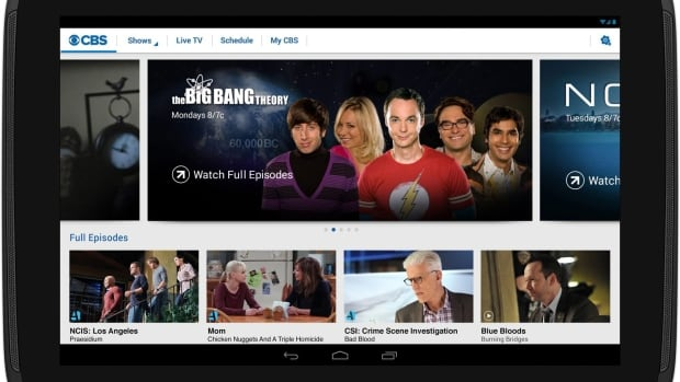 Launched in 2014, CBS All Access allows subscribers to watch the network's entire catalogue of more than 9,000 episodes. The service is set to launch in a modified form in Canada next year.