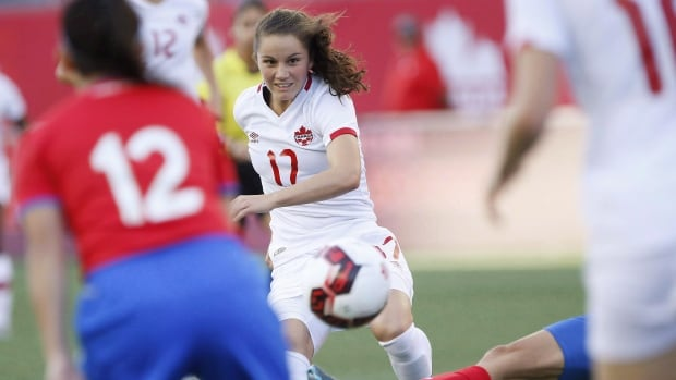 Canada's Jessie Fleming has been named to the 2017 MAC Hermann Trophy watch list.