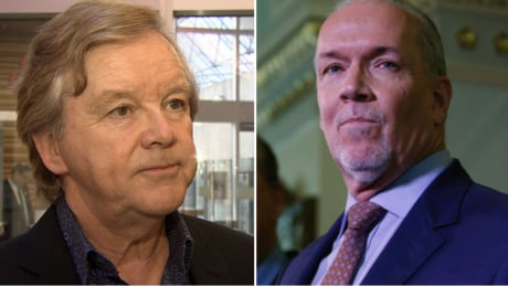 Former LNG advocate Gordon Wilson sues B.C. Premier John Horgan for defamation