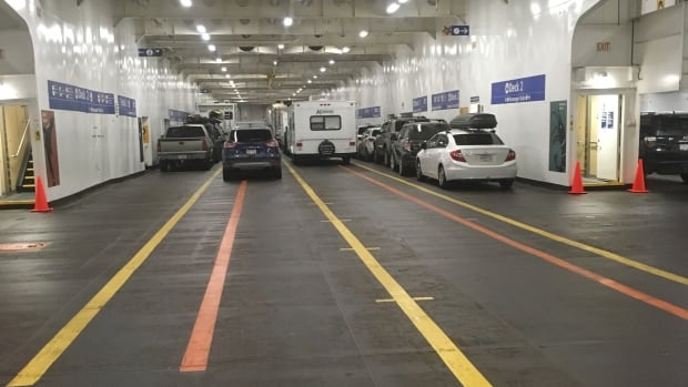 BC Ferries says they will no longer allow passengers to remain in their vehicles on closed decks during sailings as of October to comply with Transport Canada rules.