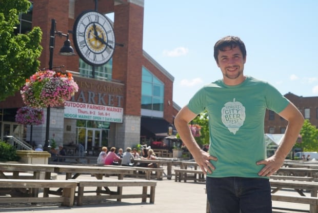 Aaron Brown, Forest City Beerfest