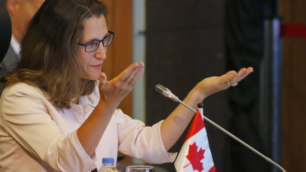 Foreign Affairs Minister Chrystia Freeland will steer Canada's talks as the first round of NAFTA renegotiations kick off this week.