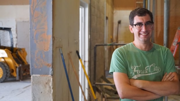 Justin Belanger (pictured) along with co-owner Michael Naish is looking to open Storm Stayed, the city's newest craft brewery, this November.