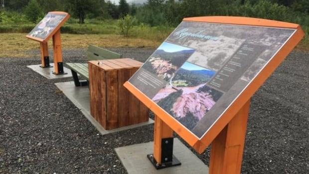 Gaspé floods plaques
