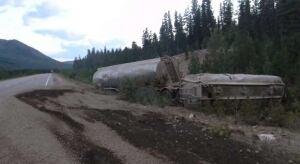 Alaska Highway fuel tankers