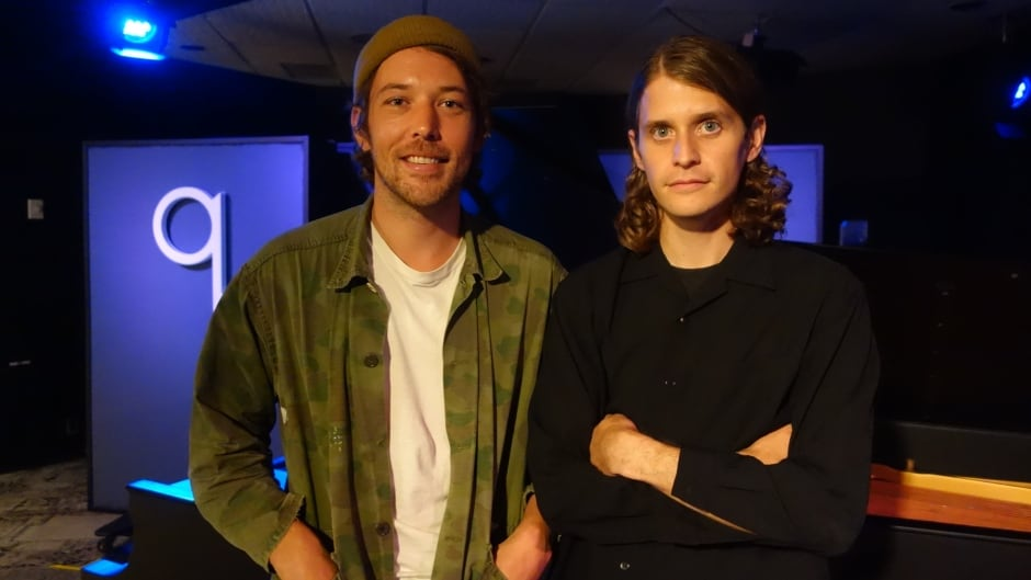 Fleet Foxes in studio q.