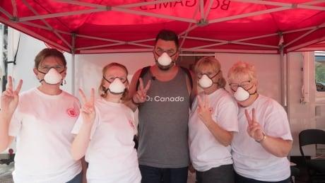 O2 Canada air filtering masks bc wildfires