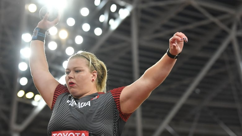 Brittany Crew to make Canadian shot put history without quarantined coach