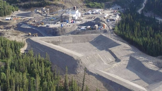 This photo from the JDS Silver website shows the Silvertip silver-lead-zinc mine under construction in 2016.