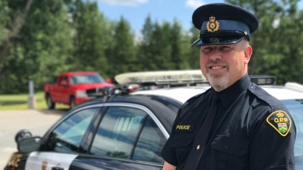 Constable André Taschereau has helped new recruits settle into the force during his 29 years as an OPP officer.