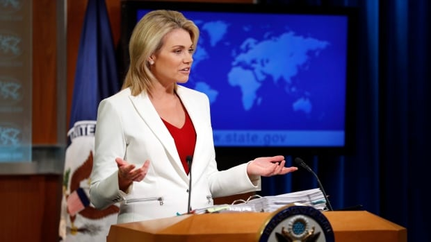 State Department spokesperson Heather Nauert, speaking during a briefing in Washington on Aug. 9, said the U.S. on May 23 'asked' two Cuban diplomats to leave the U.S.