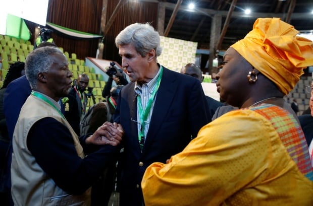Kerry says Kenya vote system appears 'strong'