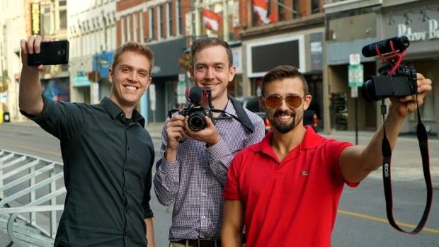Kellan Paniccia, Matt McKeever and Peter Kloczko plan to launch Social Lab next month.