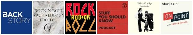 podcast playlist collage elvis