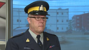 RCMP Staff Sergeant Mark Crowther
