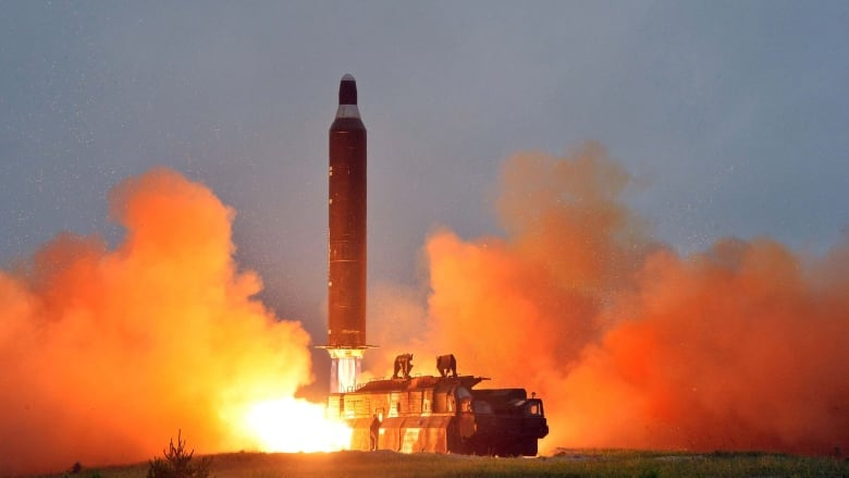 A look at the North Korean missiles that could hit Guam
