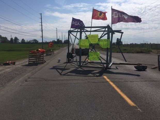 Haudenosaunee people block Caledonia road over 'lies' from Ontario government