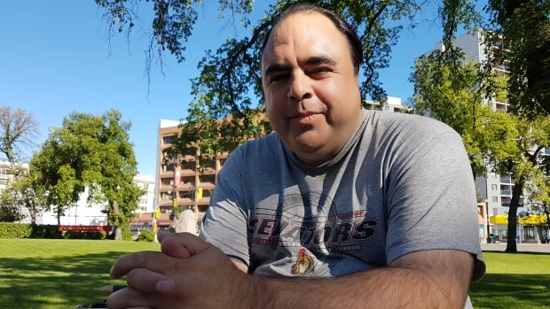 Bill Hunter, 48, is preparing to go back to school at the University of Manitoba.