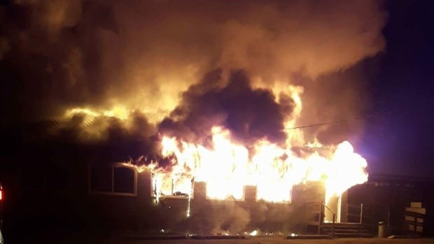 Wynne's Place, the only grocery store in Bissett, Man., burned to the ground earlier this week. Owner Hugh Wynne says investigators still don't know what caused the blaze.